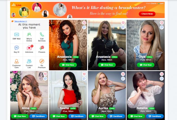 women profiles KissRussianBeauty